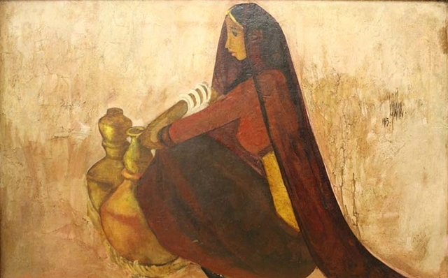, 'Untitled (Woman with Water Jugs),' 1964, Aicon Gallery