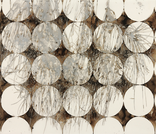 , 'Katagami Series: Silver Pine Over Circles,' ca. 2014, Chase Young Gallery