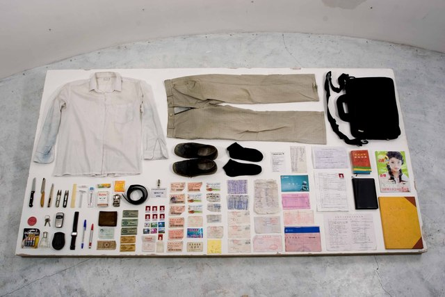 , 'Buying Everything On You,' 2006 -present, Leo Xu Projects