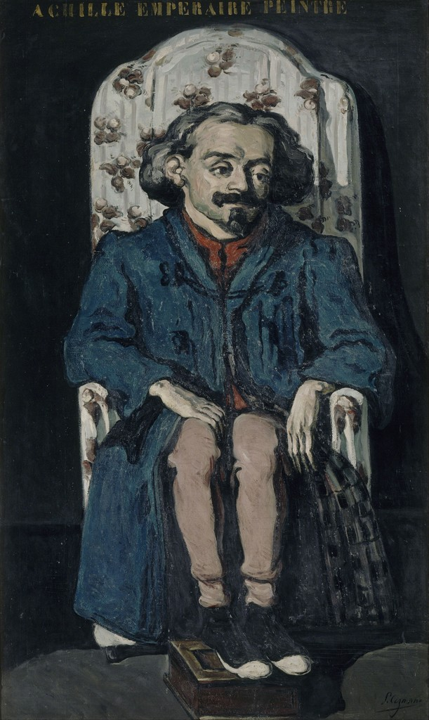 Paul Cézanne, 'Portrait of the Painter Achille Emperaire (1829-1898),' ca. 1868, Musée d'Orsay