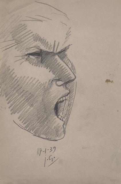 Julio González, 'Etude Pour la Tête Montserrat No. 2', 1939, Rago