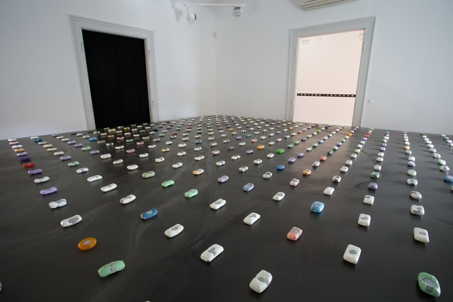 , '365 DAYS OF D. - ÁGNES EPERJESI'S INSTALLATION,' 2017, Inda Gallery