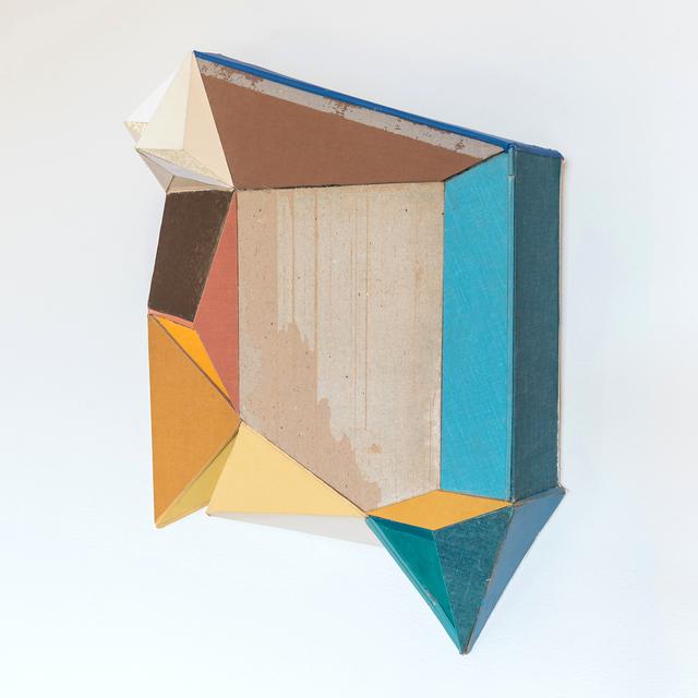 Conny Goelz Schmitt, 'On The Fringe', 2021, Drawing, Collage or other Work on Paper, Vintage book parts, Bernay Fine Art