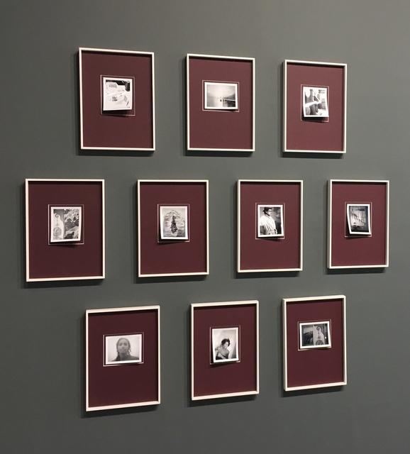 , 'Set of 10 b/w Polaroids,' 2010, Bernheimer Fine Art