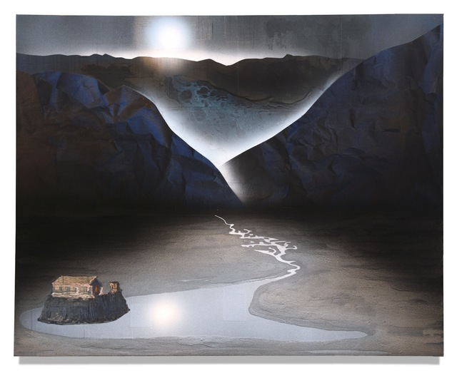 , 'River (Study),' 2018, Galerie Huit