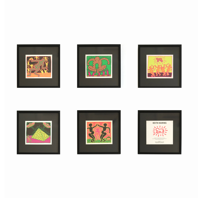 Keith Haring, 'The Fertility Suite (Shafrazi Gallery Promotional Cards)', 1983, MLTPL