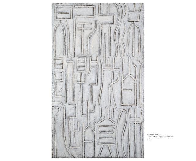 , 'Oracle Bones,' 2011, DMD Contemporary