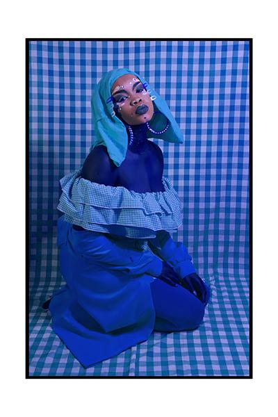 , 'Self Portrait in Blue,' 2018, MARS