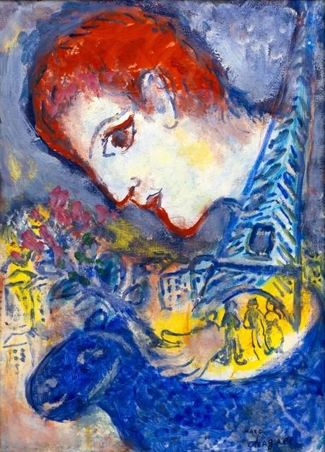 , 'Le peintre à la Tour Eiffel,' 1965-1970, Galerie Thomas