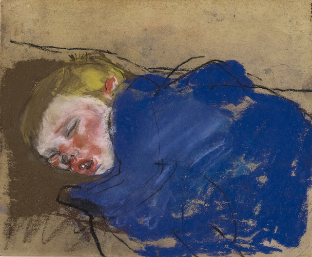 , 'Boy Sleeping in Blue,' ca. 1962, The Scottish Gallery