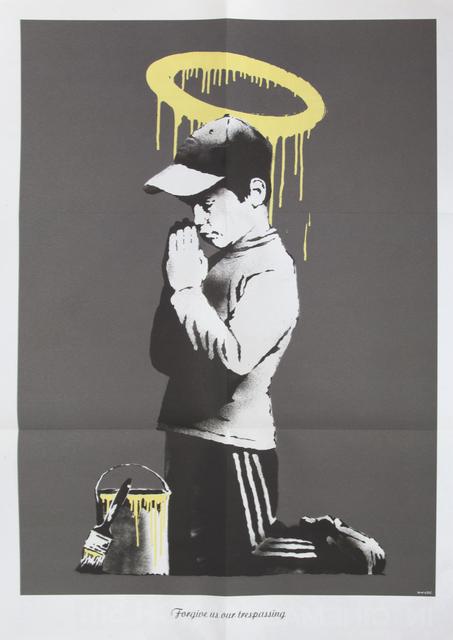 Banksy, 'Forgive Us Our Trespassing', 2010, Julien's Auctions