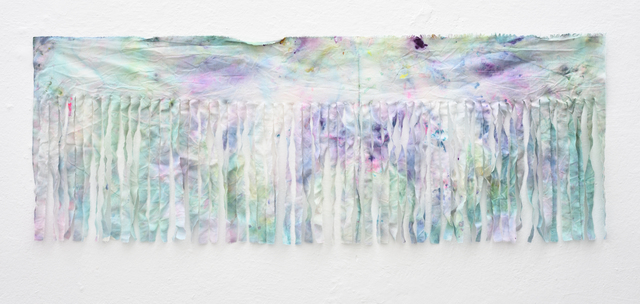 , 'Estna Editions. Paintings as scarfs. No. 4,' 2017, Temnikova & Kasela