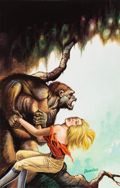 , 'Untitled (Gorilla grabbing scared woman),' c. 1960-75, Ricco/Maresca Gallery