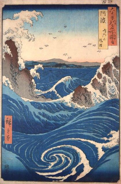 , 'Naruto Whirlpools, Awa Province,' 1855, Ronin Gallery