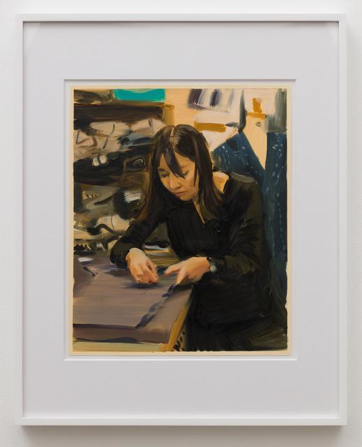 Caroline Walker, 'Study for Ming Hui', 2019, Anat Ebgi