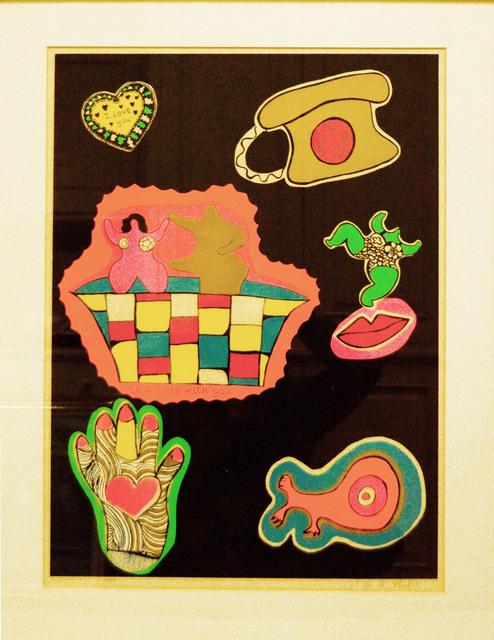 Niki de Saint Phalle, 'In a Bath With You (From Nana Power)', 1970, Madelyn Jordon Fine Art