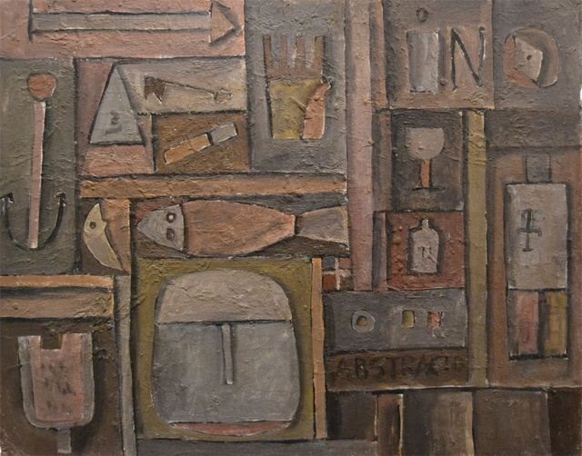 , 'Constructivo abstracto,' ca. 1962, Galería de las Misiones