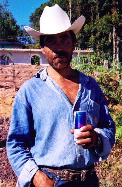 , 'Red bull,' 2005, Machete