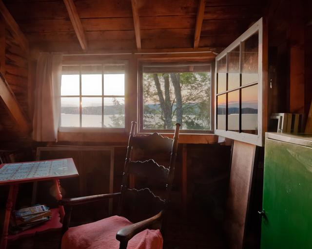 , 'Cottage Sunrise,' 2011, Fountain Street