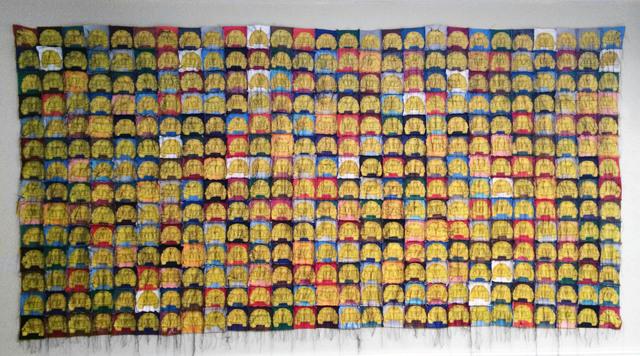 , 'Multi-Color VOCHO VW Beetle Sedan Quilt #3,' 2004, Ruiz-Healy Art