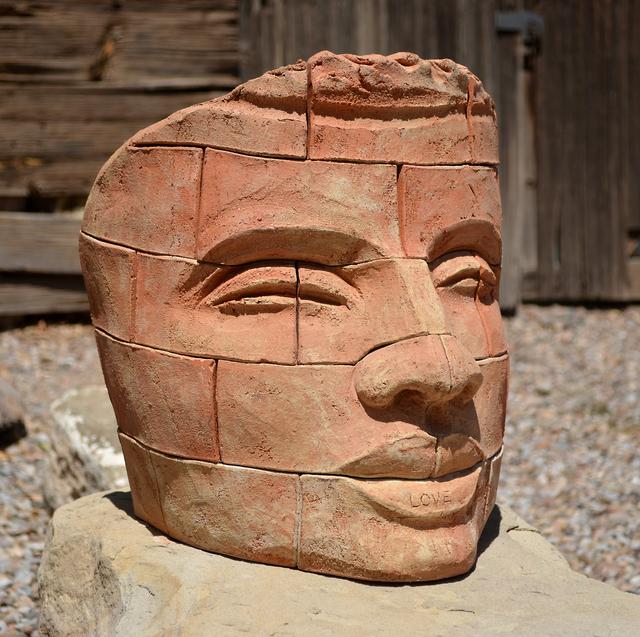 James Tyler, 'Brick Face LOVE 1 ', Nüart Gallery