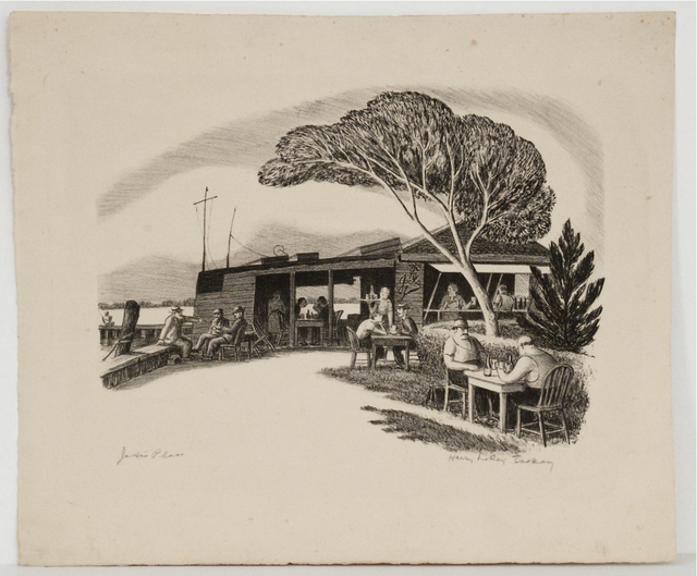, 'Jack's Place,' ca. 1930, Sragow Gallery