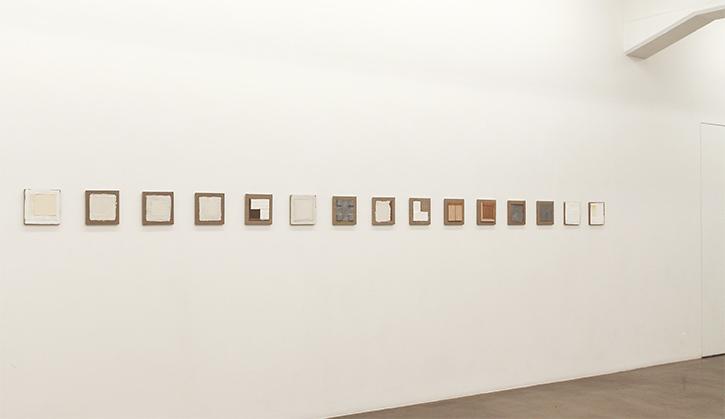 """Cris Gianakos, Installation view """"1975"""", Galleri Andersson/Sandström 2017"""