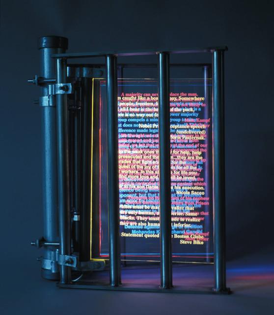 Vince Koloski, 'Imprisoned Words', 2015, Seager Gray Gallery