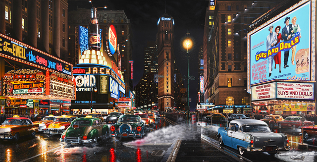 , 'Times Square 1955,' 2017, Louis K. Meisel Gallery