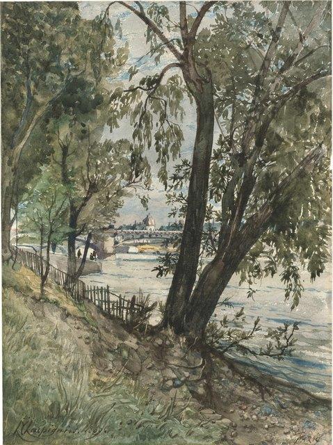 , 'Les berges de la Seine à Paris,' , Stoppenbach & Delestre