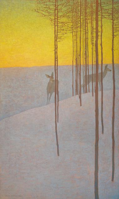 , 'In the Winter Dusk,' 2018, Jonathan Cooper