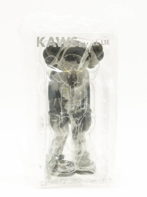 KAWS, 'Small Lie (Black)', 2017, Forum Auctions