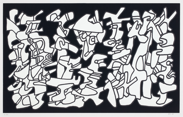 Jean Dubuffet, 'Evocations (Conjuring), from Fables', 1976, Phillips