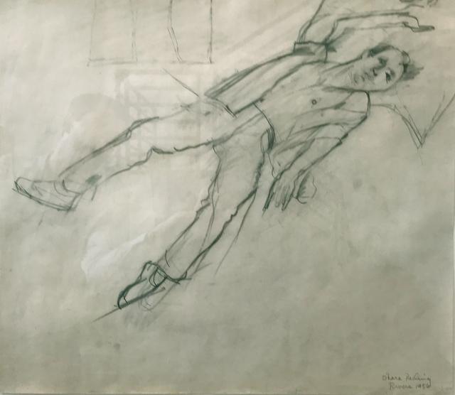 , 'O'Hara Reclining,' 1956, Tibor de Nagy