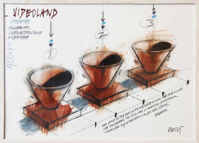 , 'Videoland VI,' 1987, Mario Mauroner Contemporary Art Salzburg-Vienna
