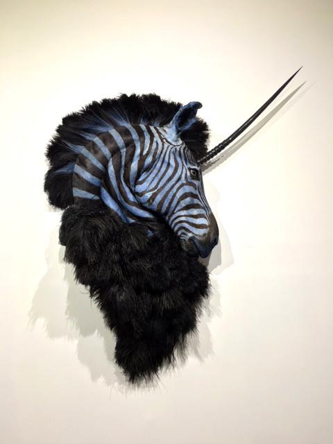 , 'Black & Blue ,' 2016, Bernice Steinbaum Gallery