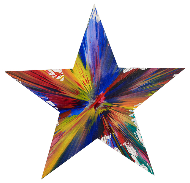 Damien Hirst, 'Star Spin Painting (Created at Damien Hirst Spin Workshop)', 2009, Rago/Wright