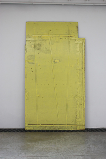 , 'Repared Sheet #01 (Vitry),' 2016, Galerie Les filles du calvaire