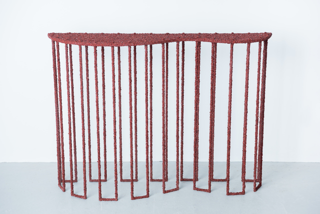 , 'Red Jasper Console,' 2016, DeLorenzo Gallery