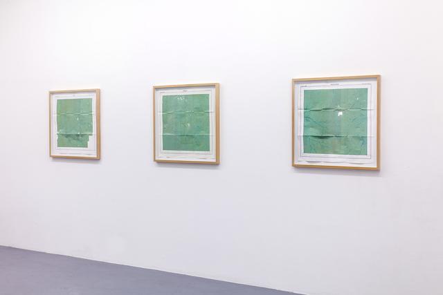 , 'Terrae Incognitae -Arounani-,-Haute-Mana- et -Inini,' 2015, Galerie Anne-Sarah Bénichou