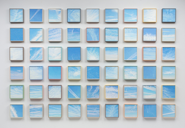, '54 Sky Panels from Holden to Sevier Lake, Utah, US Highway 50,' 2014-2017, Valley House Gallery & Sculpture Garden