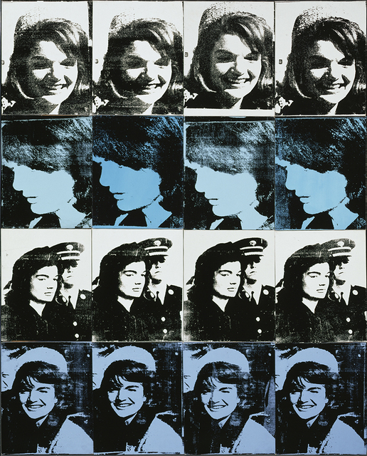 , 'Sixteen Jackies,' 1964, Walker Art Center