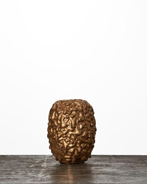 Morten Løbner Espersen, 'Gold-Covered Vase #1779', 2015, Jason Jacques Gallery