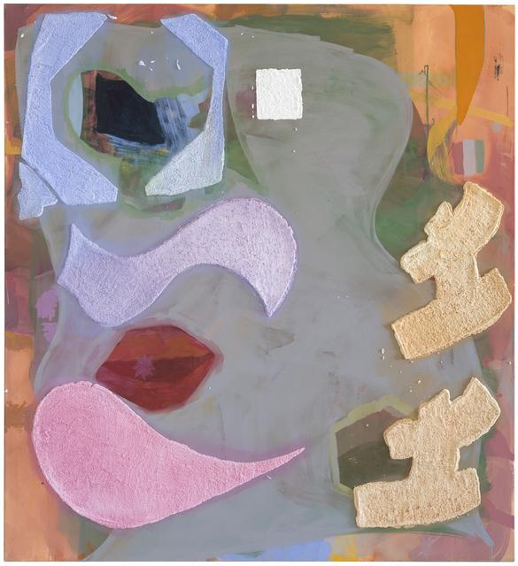 , 'From the series: Herz, Pik, Karo - en bas relief, white, Nr.6,' 2017, Galerie nächst St. Stephan Rosemarie Schwarzwälder