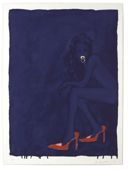 , 'Modern Olympia (Red Shoes),' 2003, Diane Villani Editions