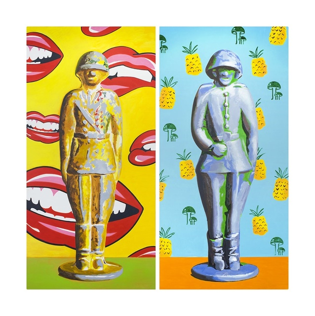 , 'Lucky toy soldiers,' 2016, Shaltai Editions