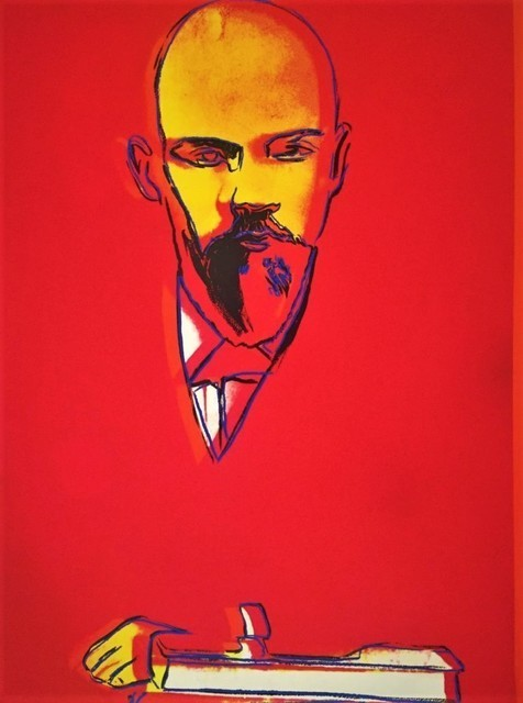 Andy Warhol, 'Lenin (Red) II.403', 1987, Print, Screenprint on Arches 88 paper, Hamilton-Selway Fine Art