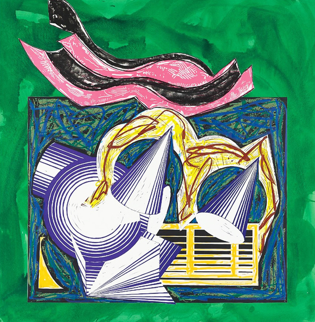 Frank Stella, 'One Small Goat Papa Bought for Two Zuzim', 1982, Kenneth A. Friedman & Co.