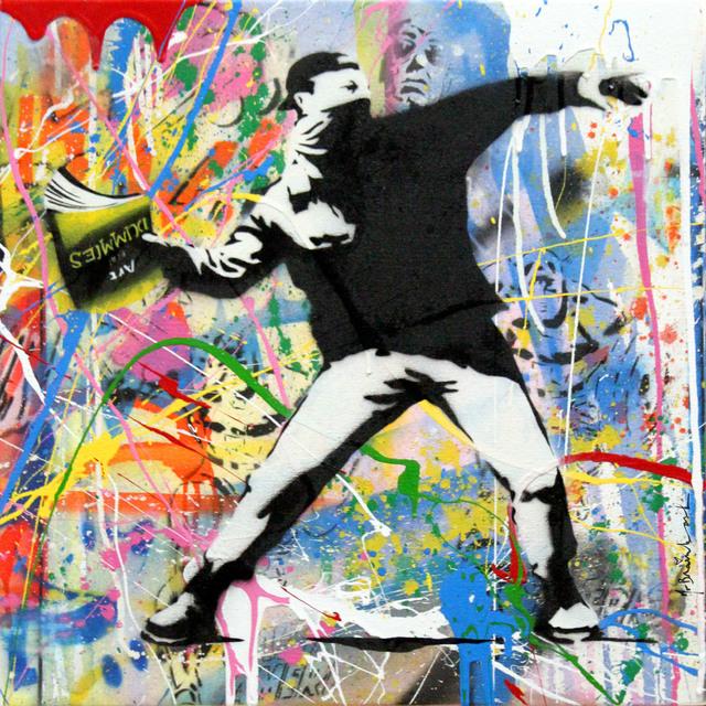 Mr. Brainwash, 'Banksy Thrower (7) ', 2015, Contessa Gallery