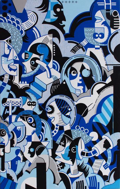 , 'Surfer Rococo - Jazz Dream I |冲浪洛可可:爵士梦 I,' 2019, Galerie Dumonteil
